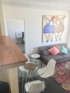 Photo for Bright light filled apartment in central Manly.