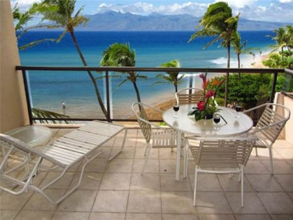 Oceanfront 3 Bedroom Maui Condo Steps To Vrbo