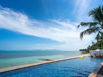Photo for BEAUTIFUL BEACHFRONT LUXURY - FOR GROUPS
