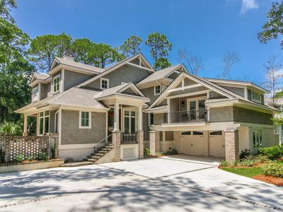 Photo for GORGEOUS 2nd Row Ocean Newly Built Sea Pines Home with Private Pool & Spa!