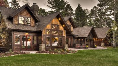 Photo for Luxury Cabin On The Whitefish Chain