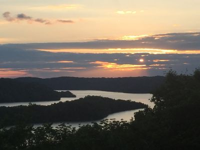 Photo for Dale Hollow- Breathtaking Lake View, Sleeps 6, WiFi, Satellite