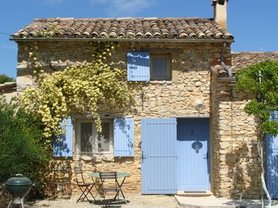 Photo for Charming  Private Cabanon with pool in the Heart of Provence