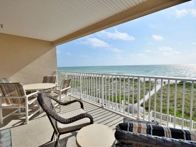 Photo for Beach Front Condo 2 Bedrooms 2 Bath with Cabana