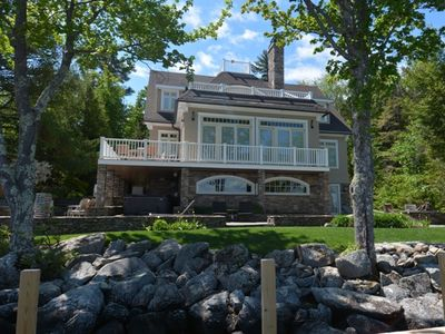 Photo for Stunning Lake Winnipesaukee Waterfront Home With Amazing Views And All Amenities