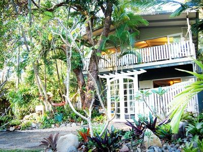 The Artists' Treehouse, in the heart of Port Douglas