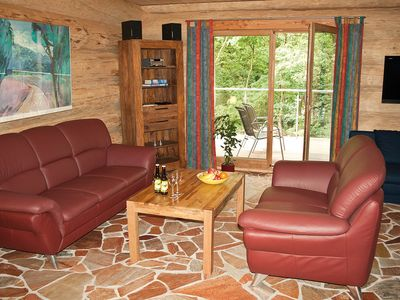 Photo for Eifel Chalet, Haus Schwarzstorch Nature holiday in Canadian log houses