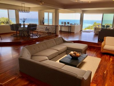 Photo for Moonlight Beach Oceanfront Large Luxury Home