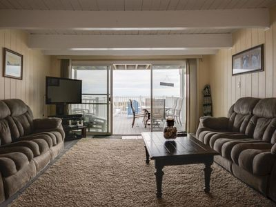 Sea Village 9 - lovely 3 br townhouse, oceanfront, with direct access to beach.
