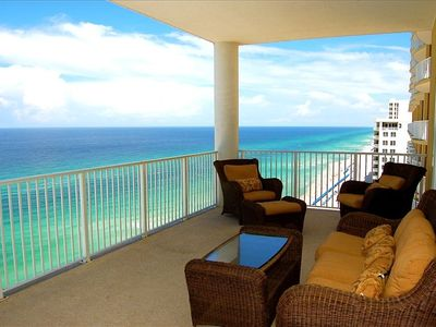 Photo for 2 Masters, Huge Beachfront Balcony- Virtual Tour! Best Rates