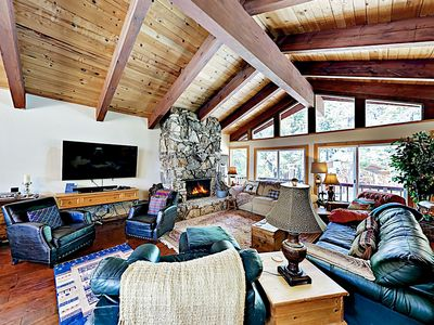 Photo for New Listing! Spacious Home w/ Deck — Near Lake Tahoe, Beach, Skiing, Downtown