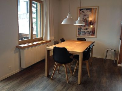 Photo for Apartment in the center of Grindelwald with Internet, Parking, Balcony, Washing machine (260709)