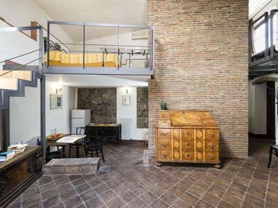 Photo for renoved loft in 17 century rustic historic villa Lionti in Sicily