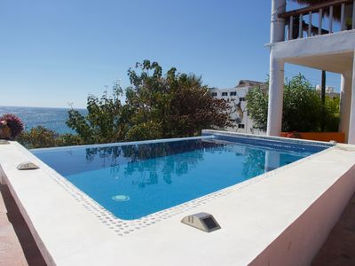 Photo for Private home with pool and fantastic ocean view, near quiet beach