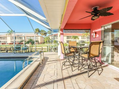 Photo for Amazing GULF ACCESS #D 2-bedroom w/ Heated pool and Boat Slip!