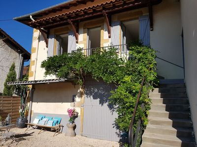 "Photo for Private house cottage ""La maison des charmes"" with pool - Ternand Beaujolais"