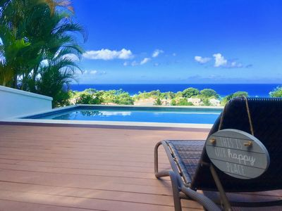 Photo for Magnificent 4 Bedroom Villa Overlooking The Beach At Alleynes Bay, St. James