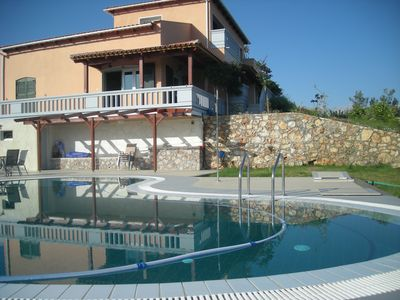 Almyrida Crete Holiday Apartment Rentals with pool and sea view