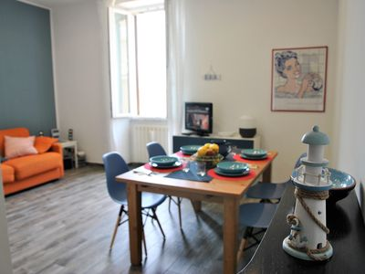 Photo for Air-conditioned apartment in the center of Formia, 400 meters from the station