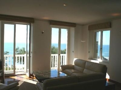 Photo for Exceptional Apartment In The Center Of Biaritz With Sea View