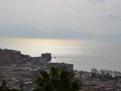Photo for Casa del Cedro superior apartment with private garden on the Gulf of Naples.
