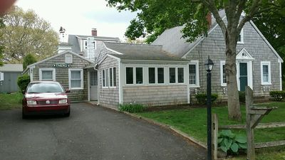 Photo for Quaint and cozy beach house in great family friendly neighborhood.  Walk
