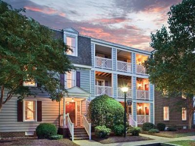 Photo for Why Worry? Book Wyndham Williamsburg Kingsgate -2br-7nts-arrive 5/18 or 6/1
