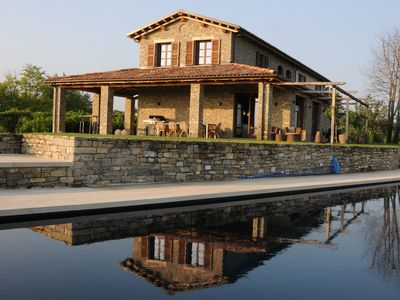 Photo for LUXURY VILLA IN THE PIEDMONT WINEYARDS - 265m2 - 10 pers. - 5x14m pool
