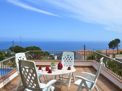Photo for Club Villamar - Holiday villa in the hills of Lloret de Mar with an atmospheric appearance along ...