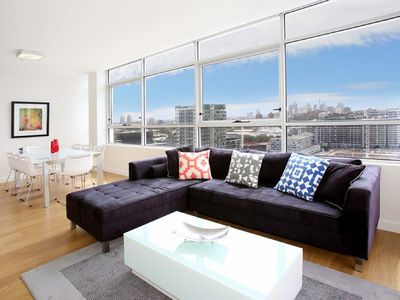 Photo for Modern and Bright 3BR Executive Apartment in Zetland with Views