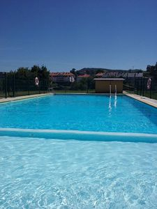 Photo for OFFER!! Cozy apartment with terrace, garden and pool near beaches