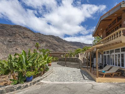 Photo for Holiday house with shared pool in Mogán