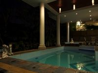 The villa design is beautiful and classic. Safety have no issue. Drive in to the city is not a