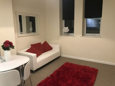 Photo for Quiet, Modern Apartment In Portsmouth With Parking