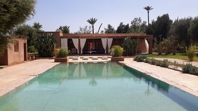 Photo for HOUSE WITHOUT OPPOSITE LARGE POOL IN OLIVE TREES