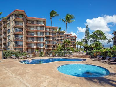 Photo for Oceanview condo with shared pool, tennis, & sauna - steps from the beach