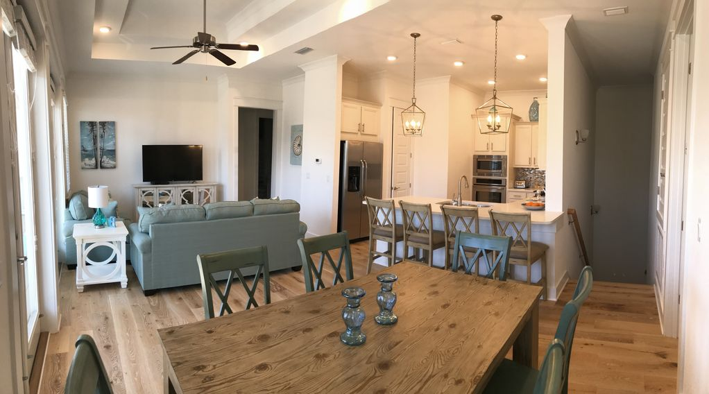 Brand New Townhome In Prominence On 30a Across From The Hub With 2 Cruiser Bikes Share Santa Rosa