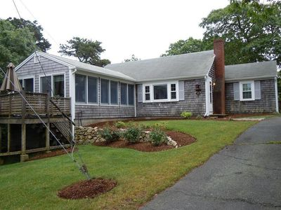 Front of the house
