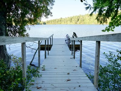 Photo for Modern Cottage on Long Pond Lake in Acadia