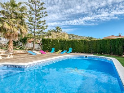 Photo for Exotic Villa in Roda de Barà with Private Pool