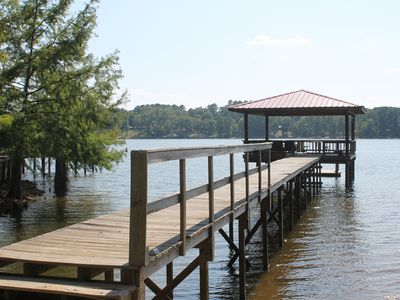 Photo for Lake Front Camp on Beautiful Toledo Bend