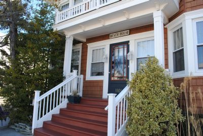 """Photo for Think """"Bed and Breakfast"""" without the breakfast! Experience shore cottage charm within walking distance to beach, boardwalk, shops. Park your car and walk or ride bikes to everything."""