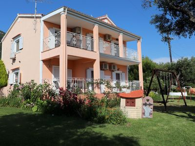 Photo for Perfect for peace seekers! Holiday home close to the beach   Prassoudi, Corfu