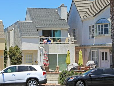 Photo for Lower 2BD/2BA Unit, Steps to the Beach, Huge Private Patio with BBQ