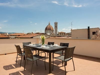 Photo for Apartments Florence - Tornabuoni Terrace