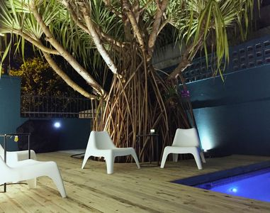 Photo for Power generator. Water tank. A/C. Free wifi. Private pool. Steps from the beach
