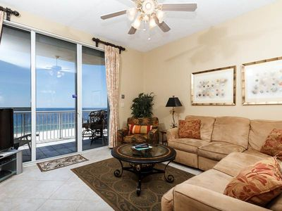 Photo for 5th Floor Gulf-Front Spacious Condo