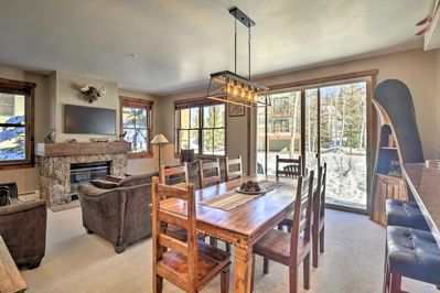 Breckenridge is at your fingertips when you stay at this ideally located condo!