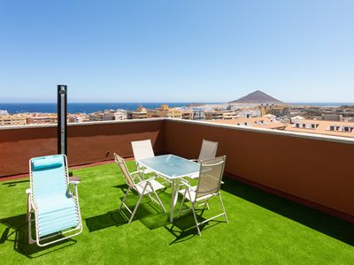 Photo for Beautiful Duplex with terrace and sea views