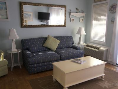 Photo for Perfect Sea Side Villas getaway on the beach, walk to Coligny Plaza